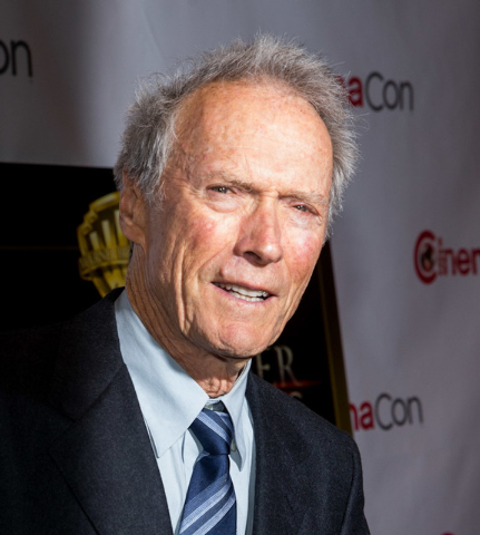 """Director Clint Eastwood took the stage to preview footage from his next directing effort, the musical """"Jersey Boys"""" Thursday night at CinemaCon. (Courtesy/Erik Kabik/Retna)"""