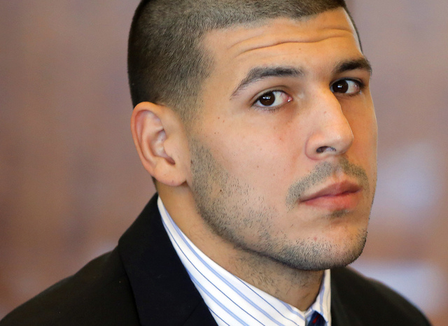 Former New England Patriots NFL football player Aaron Hernandez has been indicted on murder charges in a 2012 double slaying in Boston. Boston police spokeswoman Neva Coakley confirmed the indictm ...