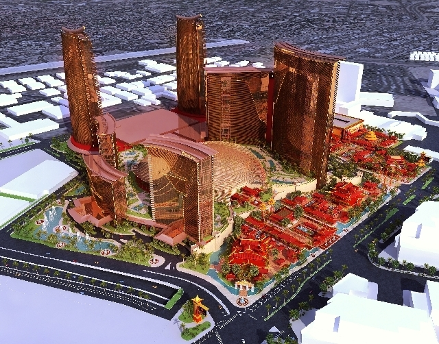The Resorts World Las Vegas project by the Genting Group would occupy the site where the Stardust stood for nearly five decades. Boyd Gaming officials halted construction on Echelon in 2008, and e ...