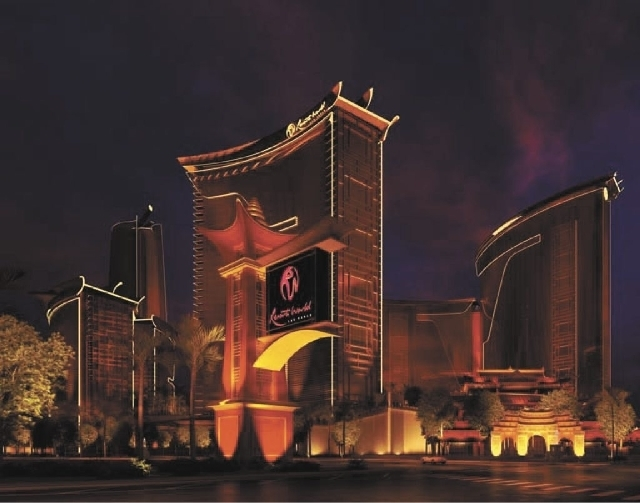 Artist's rendering of the Resorts World Las Vegas project being developed by Genting Group on the site of the abandoned Echelon development on Las Vegas Blvd. west of the Wynn properties. (Courtesy)