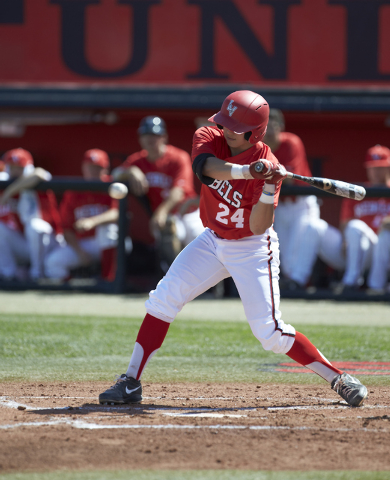 UNLV infielder/designated hitter A.J. Hernandez from Las Vegas is hitting .311 in 31 games this season and has been particularly hot at the plate since the final four games of the regular season.  ...