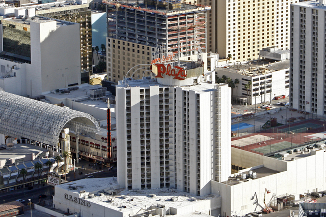 This File Image Shows The Roof Of Plaza Hotel On Wednesday March 18