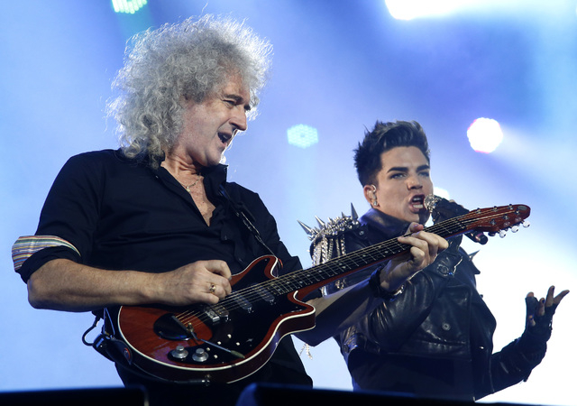Queen and Adam Lambert will be demanding top dollar for shows July 5 and 6 at The Joint at the Hard Rock Hotel. (Efrem Lukatsky/The Associated Press)