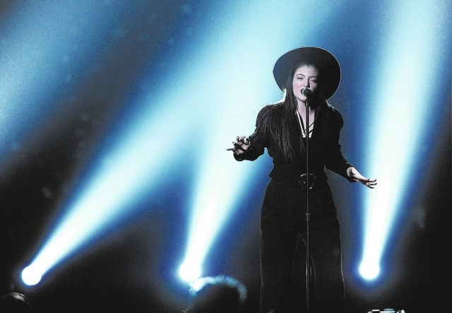 Lorde performs on stage at the Billboard Music Awards at the MGM Grand Garden Arena on Sunday, May 18, 2014, in Las Vegas. (Photo by Chris Pizzello/Invision/AP)