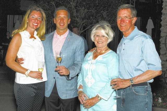 Christina and Kevin Roberts, from left, and Jeanne and John Kilduff