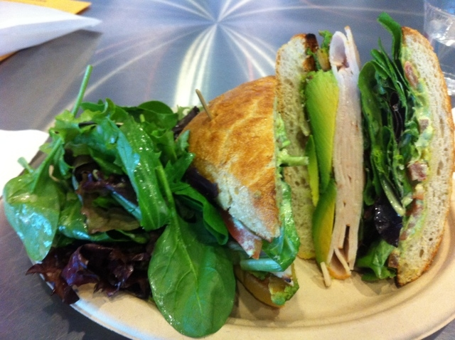 The California turkey is among the sandwich offerings at the Bronze Cafe at The Center, 401 S. Maryland Parkway. (Michael Lyle/View)