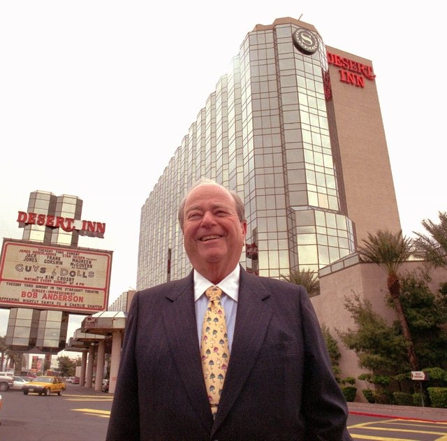 Burton Cohen stands outside the Desert Inn hotel-casino in Las Vegas in this undated file photo. (Las Vegas Review-Journal)