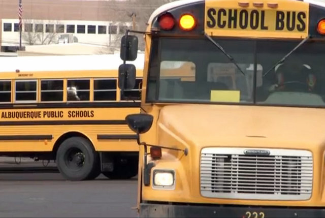 A Utah 10-year-old girl is in critical condition after being hit by a school bus. (AP)