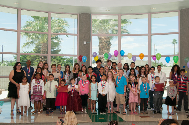 The Nevada Childhood Cancer Foundation presented its fifth annual CAPS (Courage, Achievement, Perseverance and Success) Ceremony to celebrate students 5 to 17 who are battling cancer and other cri ...