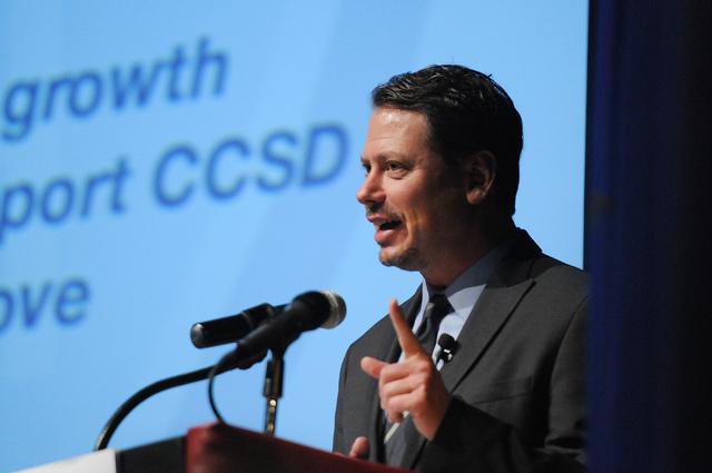 Clark County School District Superintendent Pat Skorkowsky. (Erik Verduzco/Las Vegas Review-Journal)