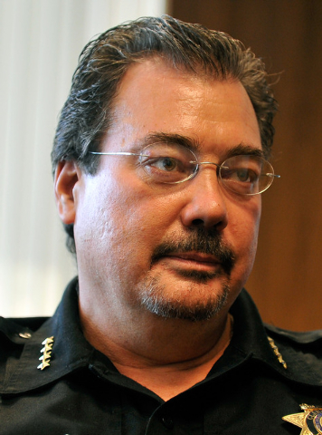 Las Vegas Township Constable John Bonaventura (David Becker/Las Vegas Review-Journal)