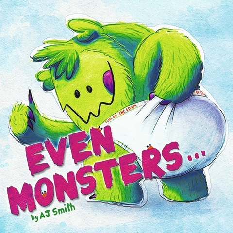 """Even Monsters"" draws humorous comparisons between the lives of tots and monsters. (Special to View)"