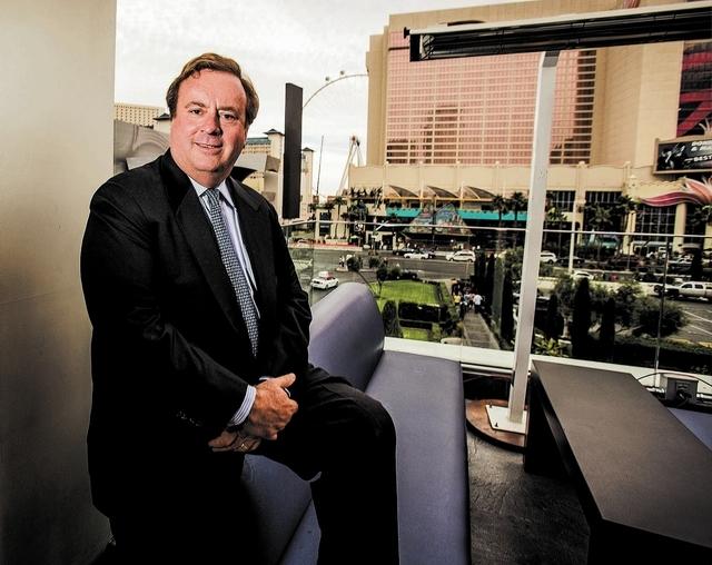 Caesars Entertainment chairman Gary Loveman. (Jeff Scheid/Las Vegas Review-Journal File)