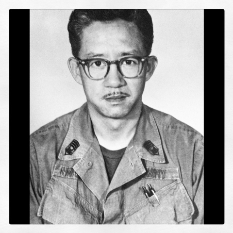 Eugene Ramos pictured in Vietnam in 1968. Courtesy of the Ramos Family