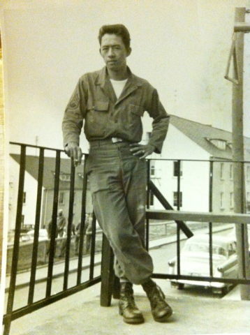 Eugen Ramos pictured in 1955. Courtrsy of the Ramos Family