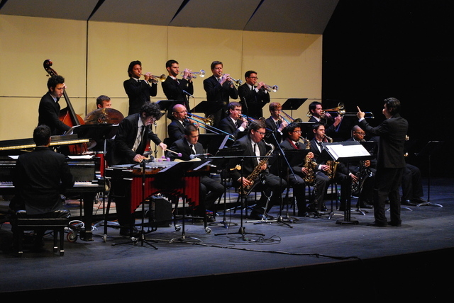 The UNLV Jazz Ensemble performs in 2014. The ensemble is scheduled to play May 10 and 11 at the Spring Mountain Ranch Musical Festival, 6375 state Route 159. (Special to View)