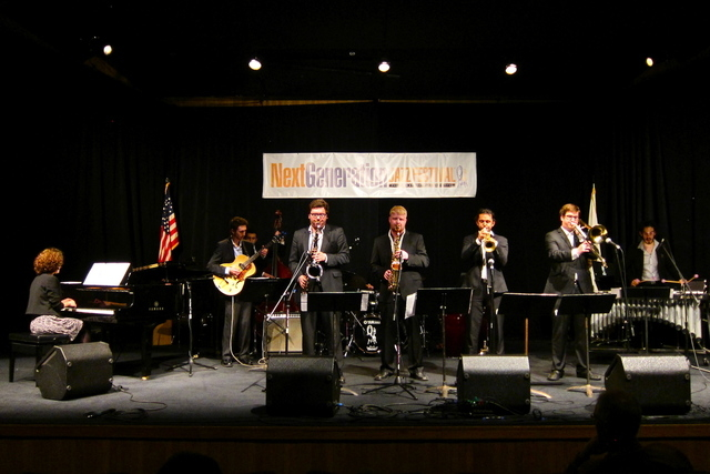 The UNLV Latin Jazz Ensemble performs at the Next Generation Jazz Festival in Monterey, Calif. The ensemble is scheduled to play May 10 and 11 at the Spring Mountain Ranch Musical Festival, 6375 s ...