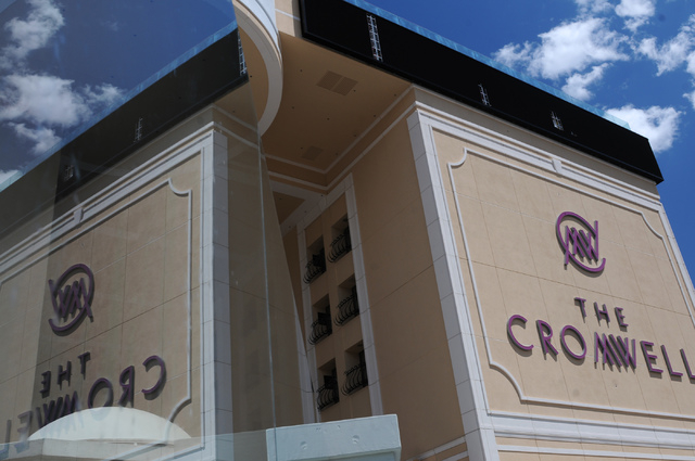 The Cromwell casino-hotel in Las Vegas is seen during the grand opening ceremony Wednesday, May 21, 2014. (Erik Verduzco/Las Vegas Review-Journal)