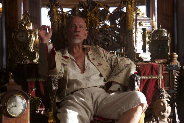 "John Malkovich stars as Blackbeard in NBC's ""Crossbones."" (Francisco Roman/NBC)"