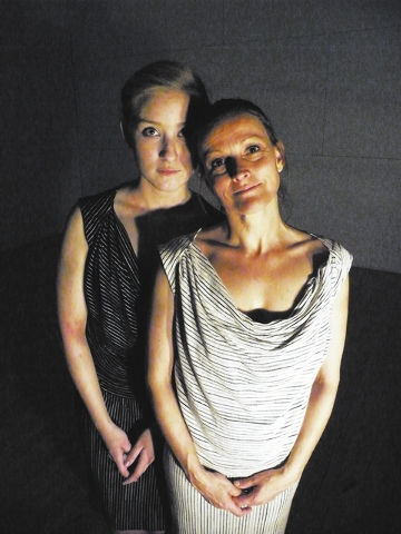 "Michele Barsczc and Cynthia DuFault play split personalities in ""The Seven Deadly Sins,"" part of the Spring Dance Concert this weekend at the College of Southern Nevada's Cheyenne campus. (Courtesy)"