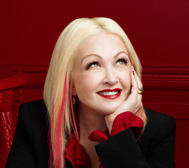Cyndi Lauper will be at the MGM Grand Garden, along with Cher, on Sunday. (Courtesy)