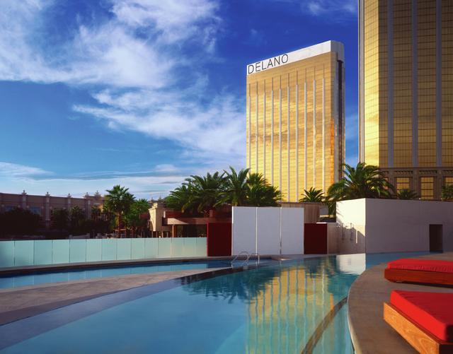 Delano Las Vegas' exterior is pictured. (Rendering courtesy of Delano Las Vegas)