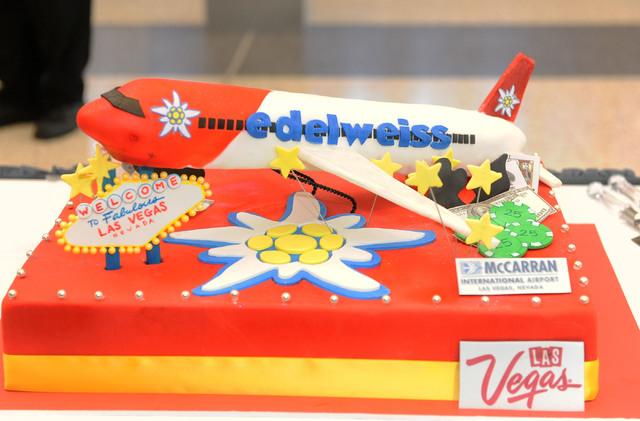 Flights To Vegas Cake