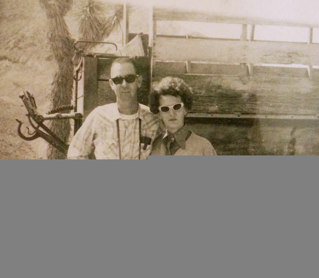 Frank and Mary Ellen Racel are seen in a photograph taken around 1970 in Las Vegas. (Special to View)