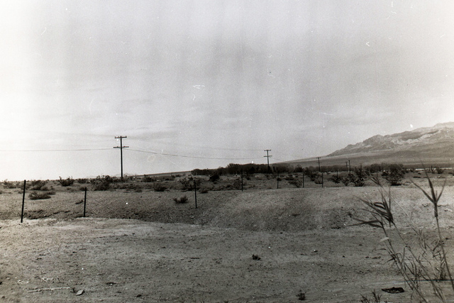 The view in 1969 from what is now the intersection of Racel and Coke Streets near Tule Springs Park in Las Vegas. (Special to View)