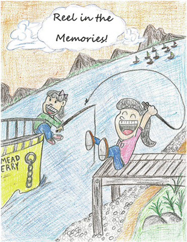 Eliza Biglete, fifth grader from Bruner Elementary in North Las Vegas, has been named the winner of the 2014 Free Fishing Day Poster Contest. Her artwork will be featured on this year's Free Fis ...
