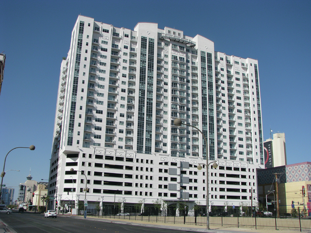 The Ogden, 150 Las Vegas Blvd. North, was completed in 2008. (F. Andrew Taylor/View)