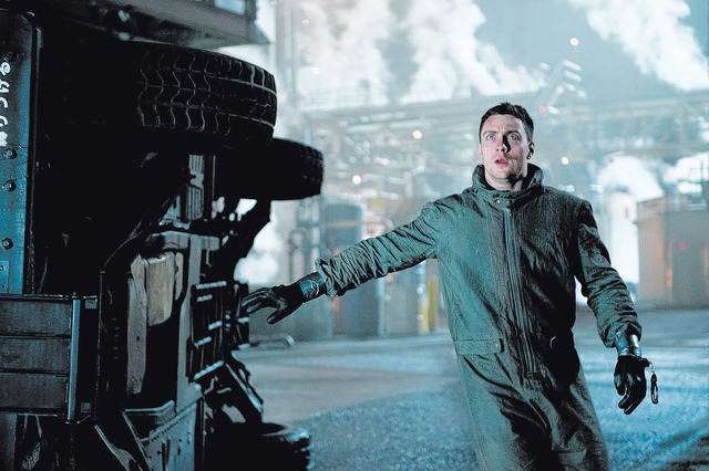 GZ-03444  Film Name: GODZILLA  Copyright: © 2014 WARNER BROS. ENTERTAINMENT INC. & LEGENDARY PICTURES PRODUCTIONS LLC  Photo Credit: Kimberley French  Caption: AARON TAYLOR-JOHNSON as Ford Br ...