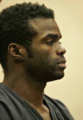 Jason Griffith appears in court in North Las Vegas on Jan. 12, 2011. (JOHN LOCHER/LAS VEGAS REVIEW-JOURNAL)