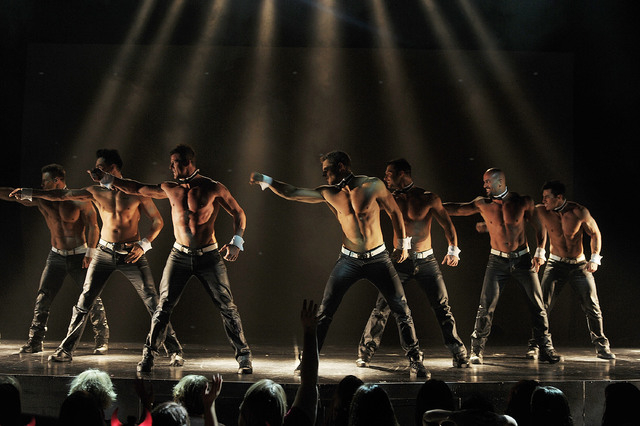 LAS VEGAS, NV - JUNE 08:  Chippendales performs at the Rio All-Suite Hotel and Casino on June 8, 2013 in Las Vegas, Nevada.  (Photo by Denise Truscello/WireImage) *** Local Caption *** Chippendales
