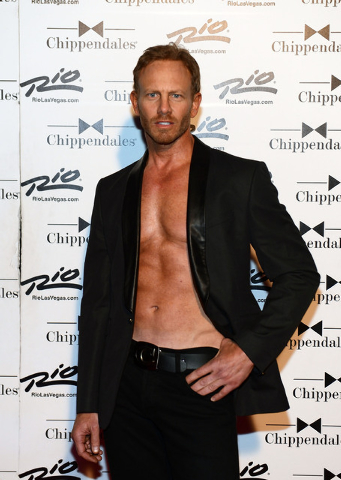 LAS VEGAS, NV - JUNE 08:  Ian Ziering debuts in Chippendales at the Rio All-Suite Hotel and Casino on June 8, 2013 in Las Vegas, Nevada.  (Photo by Denise Truscello/WireImage) *** Local Caption ** ...