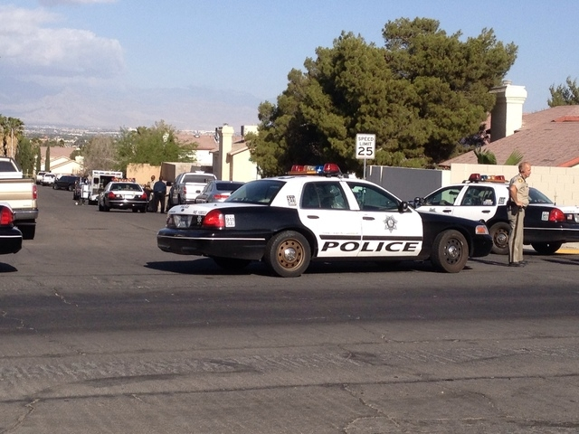 A barricade situation is underway in northeast Las Vegas as SWAT officers try to coax a man from his home. A man refused to come out when police responded to a call at a home near Lake Mead Boulev ...