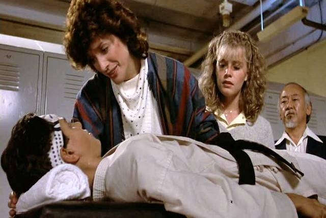 """Randee Heller as Lucille LaRusso in """"The Karate Kid"""" (Columbia Pictures)"""