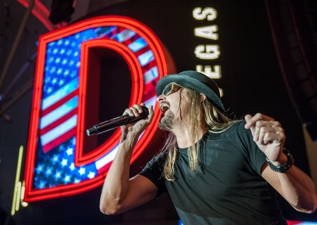 Kid Rock performing in Las Vegas. (courtesy Tom Donoghue Photography)