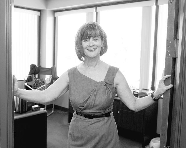 Tina Kunzer-Murphy, Las Vegas bowl director poses in her office on Thursday, May 20, 2010. Murphy's first summer job was as an usher at the old Huntridge Theater. (John Gurzinski/Las Vegas Review- ...