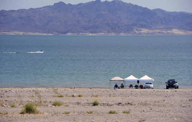 Lake Mead National Recreation Area is shown in this Friday, July 19th, 2013, file photo. (Steve Andrascik/Las Vegas Review Journal)