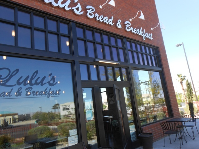 The exterior of Lulu's Bread and Breakfast, 6720 Sky Pointe Drive, gives an indication of its laid-back approach that includes brick walls, wicker baskets and burlap coffee bags to hold items. ( ...