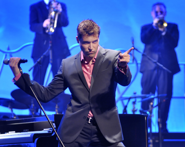 """PBS viewers in Sacramento, Calif., get the first 30-minute look at """"Frankie Moreno in Concert"""" on Saturday. Wider PBS exposure has helped Human Nature and Clint Holmes. (BILL HUGHES/LAS VEGAS  ..."""