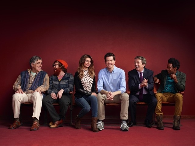 "From Emmy Award-winning writer and comedian John Mulaney (""Saturday Night Live"") comes MULANEY, an ensemble comedy about a rising stand-up comic trying to take his career to the next level. Pi ..."