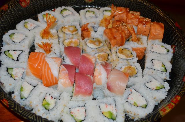 California roll, shrimp tempura roll and dragon roll are among the offerings at Ninja Teriyaki Shushi 2 Go, 3025 E. Desert Inn Road on the southeast corner of  East Desert Inn and Pecos-McLeod. (G ...