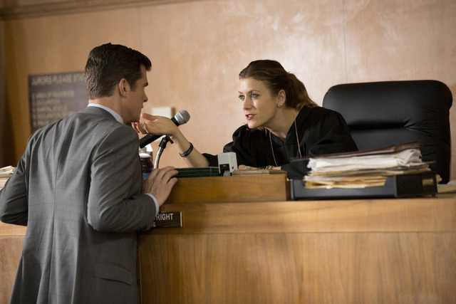 "BAD JUDGE -- ""Pilot"" -- Pictured: John Ducey as Tom, Kate Walsh as Rebecca (Photo by: John Fleenor/NBC)"