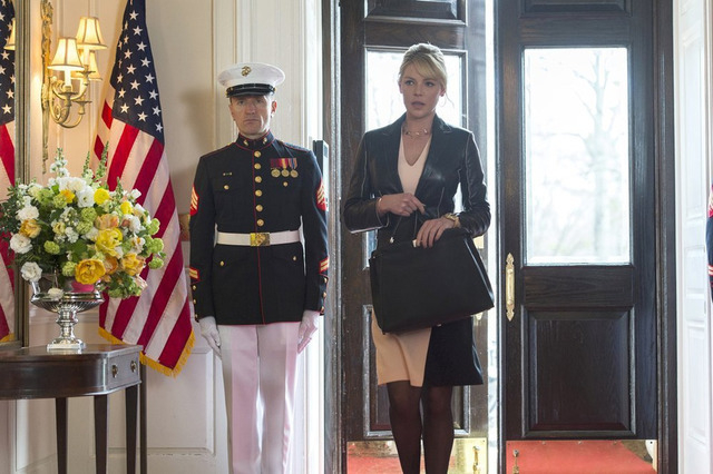 """STATE OF AFFAIRS -- """"Pilot"""" -- Pictured: Katherine Heigl as Charleston Tucker (Photo by: Michael Parmelee/NBC)"""