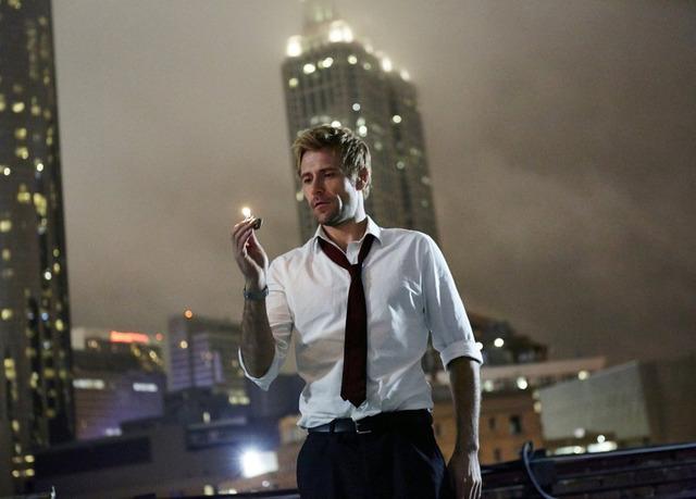 "CONSTANTINE -- ""Pilot"" -- Pictured: Matt Ryan as John Constantine (Photo by: Quantrell Colbert/NBC)"