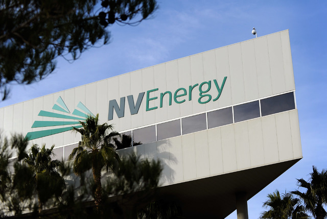 NV Energy headquarters is seen at 6226 W Sahara Ave. Monday, Dec. 16, 2013. NV Energy south filed a general rate request with the Nevada Public Utilities Commission on Friday that reflects one of  ...