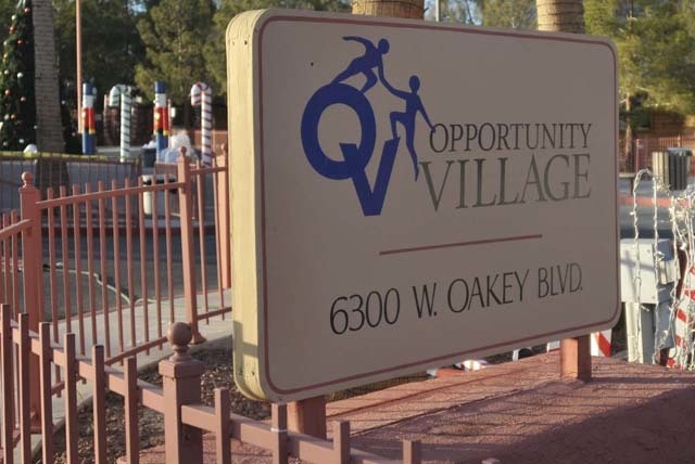 Opportunity Village on Thursday announced a five-year $136 million capital campaign to establish a new model of residential facilities and an Opportunity Village campus in northwest Las Vegas. (La ...