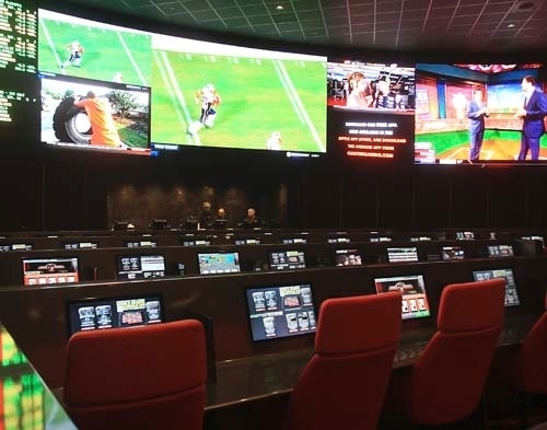 The Palms race and sports book is shown in this file photo. (Las Vegas Review-Journal)